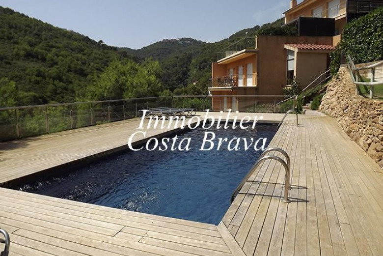 Charming terrasses house in a little community for sale in Sa Tuna, Begur