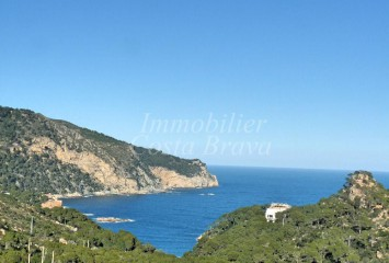 Building plot with views to the sea for sale in Begur, AiguaBlava