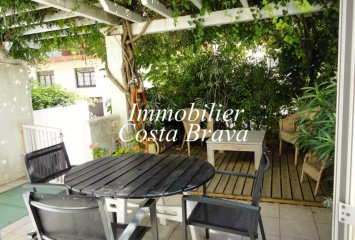 Terraced house for sale,  100 meters to Sa Riera beach