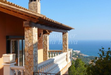 Detached house with fabulous sea views and various terraces for sale in  Sa Tuna, Begur