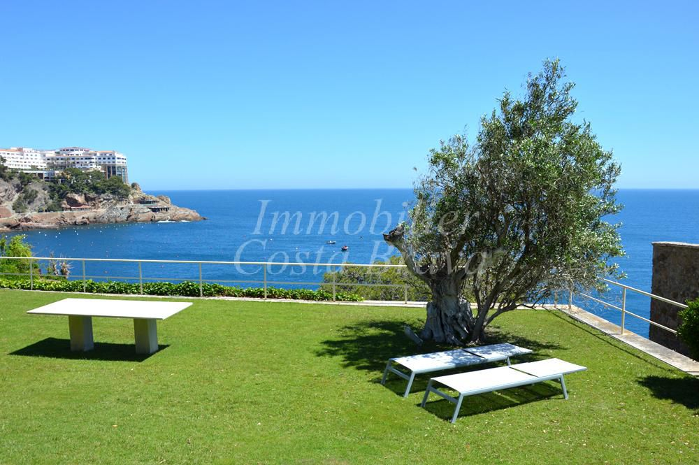 Exclusive villa de 1 re ligne de mer vendre avec de for Achat maison costa brava