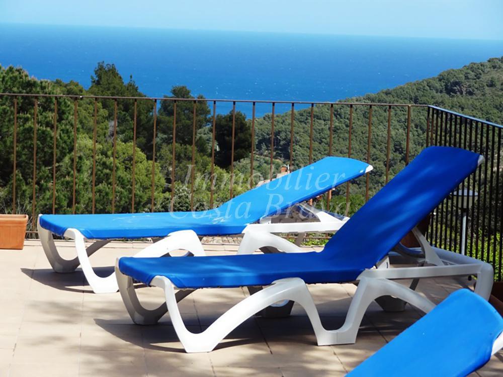 Encantadora villa de estilo catal n en venta con vistas al mar en sa riera es valls - Piscina en catalan ...