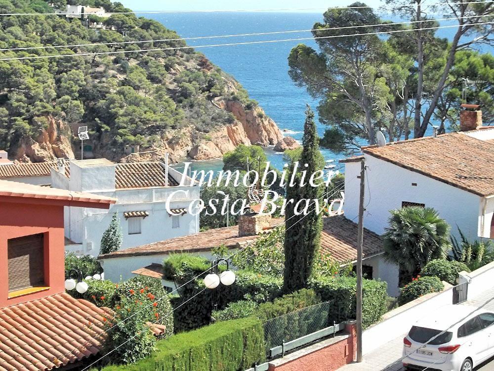 Agr able appartement vendre avec vues sur la mer tamariu for Achat maison costa brava