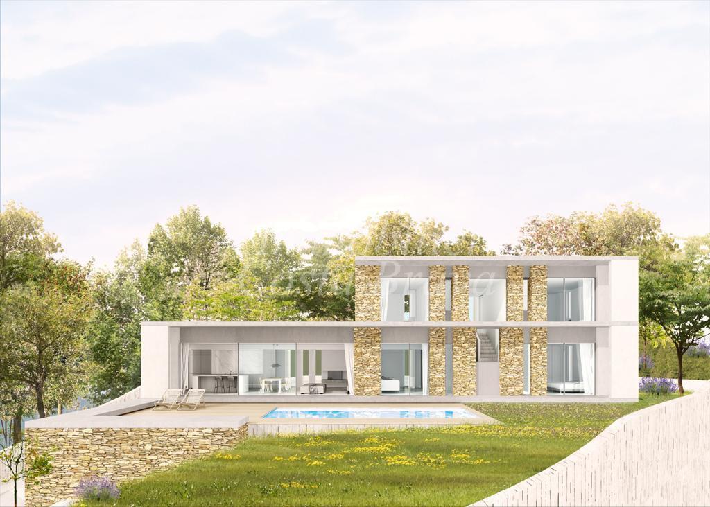 Belle villa en construction avec de magnifiques vues sur la mer vendre begur sa riera for Belles villas modernes
